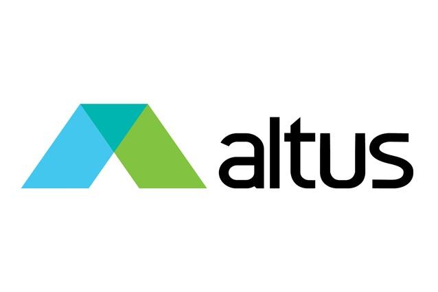 Altus' logo.