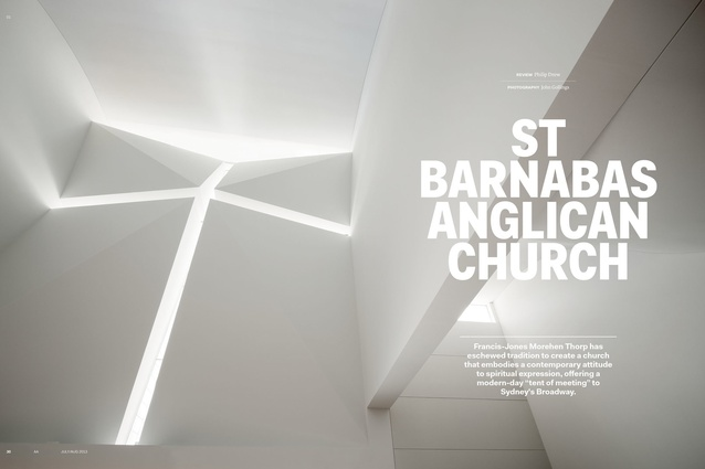 St Barnabas Anglican Church by Francis-Jones Morehen Thorp.