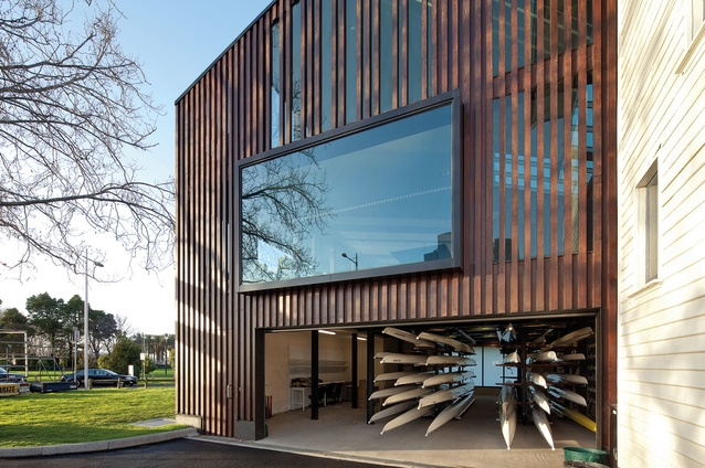 Melbourne University Boat Club by Lovell Chen.