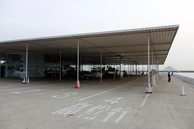Naoshima Ferry Terminal by SANAA.