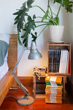 One of a few Anglepoise lamps that Prak picked up at a second-hand shop to restore.