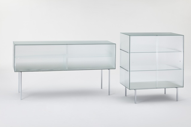 Commodore sideboard by Piero Lissoni for GlasItalia