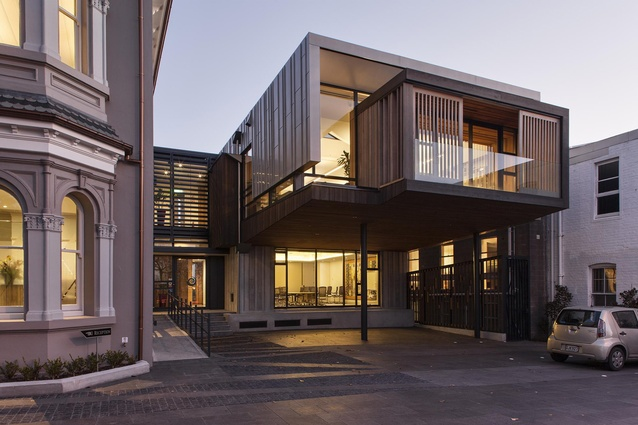 Commercial Architecture Award: Allendale Annexe by Salmond Reed Architects. View from Ponsonby Road.