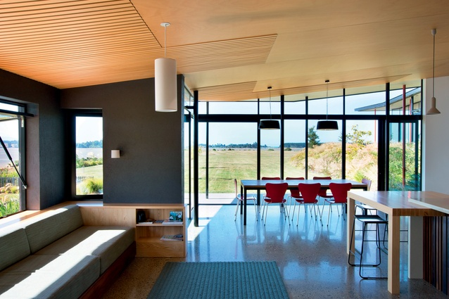 The pavilions have been sited to maximise the views from each of the rooms.