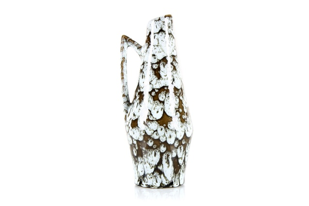 Scheurich Europ line white lava vase | <a 
