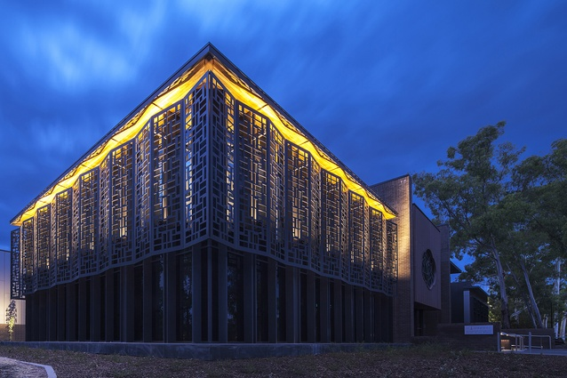 Australian National University Australian Centre on China in the World by Munns Sly Moore Architects in association with Mo Atelier Szeto.