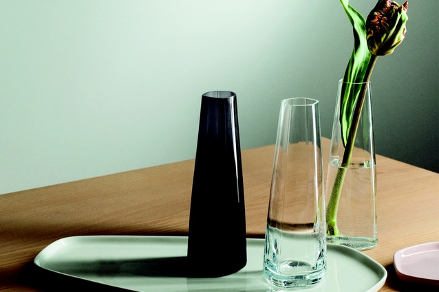 Products from the Iittala X Issey Miyake home collection.