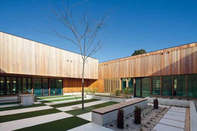 Dandenong Mental Health Facility by Bates Smart (in association with The Irwin Alsop Group).
