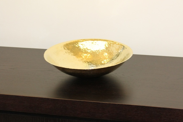 Cymbal bowl by Benjamin Black.