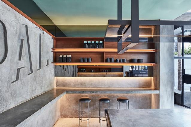 Expat. Roasters by Travis Walton Architecture.
