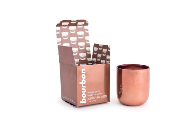 """Bourbon Candle by Jonathan Adler I <a  href=""""http://www.askew.co.nz/collections/jonathan-adler/products/jonathan-adler-pop-candle-bourbon"""" target=""""_blank""""><u>  $110 from askew.co.nz  </u></a>"""