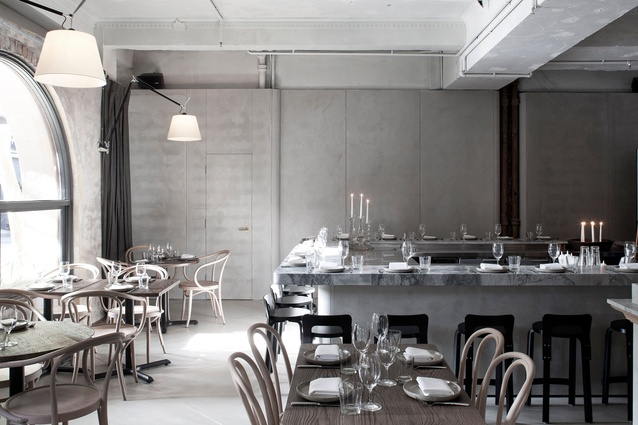 Best Restaurant Design (joint winner): The Apollo by George Livissianis Interior/Architecture.