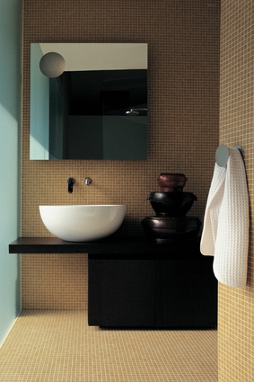 Dip 62 countertop / wall-hung basin by Flaminia.