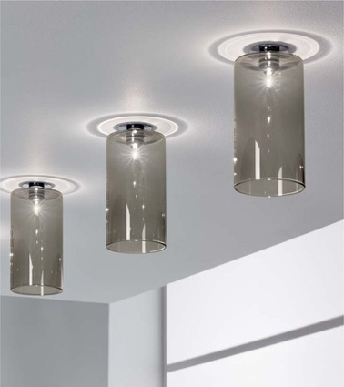 Spillray ceiling lamps.