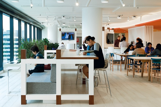 Post-occupancy studies report that seventy percent of staff say they feel healthier.