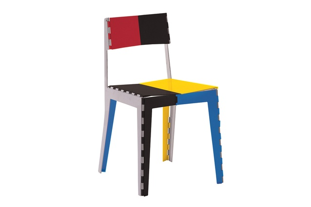 Goodrum's famous Stitch chair for Italian design firm, Cappellini, 2008.