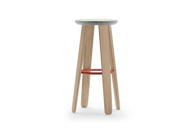 Alki Triku stool by Samuel Accoceberry.