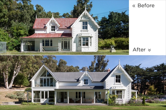 Housing Alterations and Additions Award: Loudon Homestead alteration and extension by Sheppard & Rout.