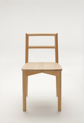 Ross Didier, Fable Chair, made from American hardwood, 2011.