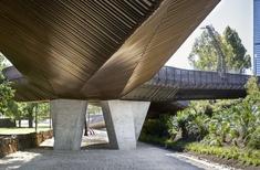 John Wardle Architects, NADAAA-designed Tanderrum Bridge opens