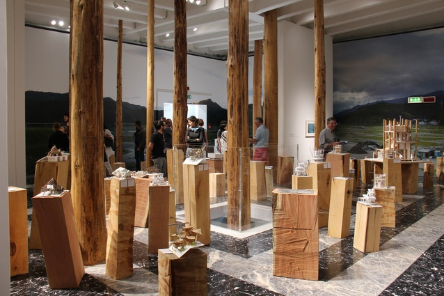 Japan's Golden Lion-winning pavilion at the 2012 Venice Architecture Biennale.