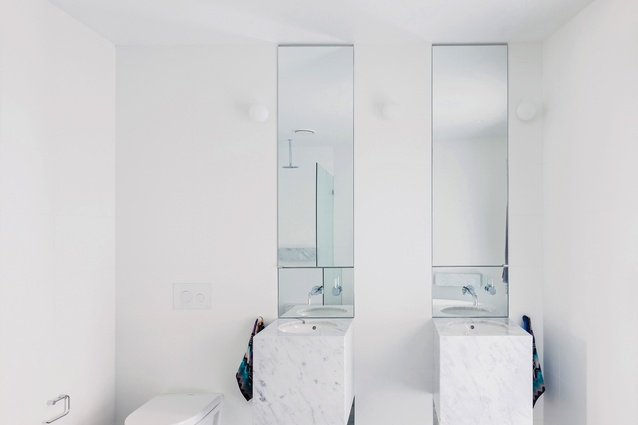 The new large ensuite on the first floor is full of natural light.