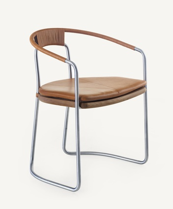 CB-450 Geometric Side Chair from BassamFellows.