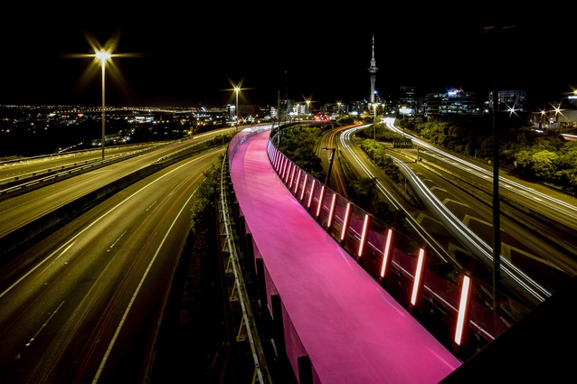 Planning & Urban Design category finalist: #LightPathAKL, Auckland by Monk MacKenzie and LandLAB in association.