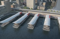 Concept design for $200m Circular Quay wharves upgrade unveiled