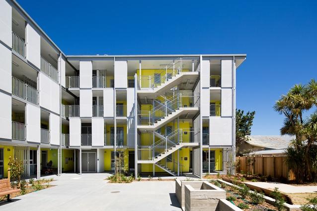 Housing: Multi Unit Award: Marshall Court Apartments for City Housing WCC by Designgroup Stapleton Elliott.