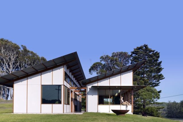 Winner of New House under 200 m<sup>2</sup>: Dogtrot House by Dunn & Hillam Architects.