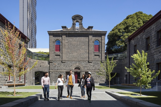 RMIT University, Building 11 Redevelopment by Peter Elliott Architecture and Urban Design.