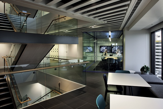 ANZ office interior.