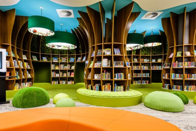 Bayside City Council - Rockdale Library by CK Design International in association with Leffler Simes Architects and Stevenson and Turner Design.