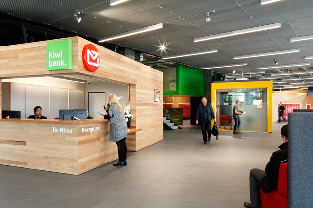 Interior Architecture Award: New Zealand Post House by Jasmax.