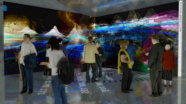 Digital visions of Maribor, Slovenia as a cultural capital. <em>Exhibitor team: 2112 Ai (100YR City)</em>