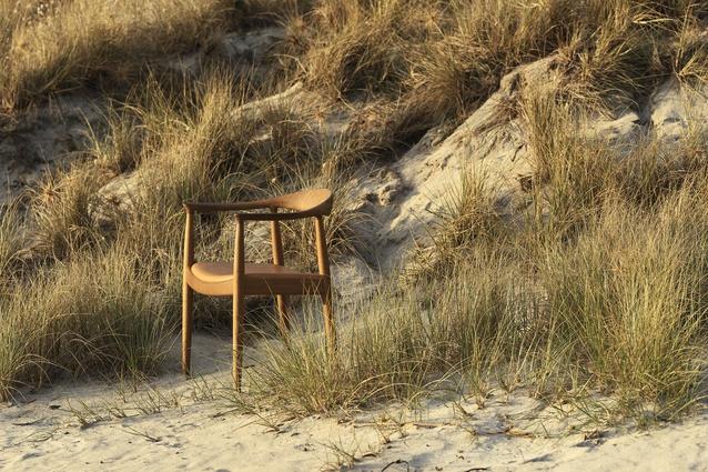 "PP503 Chair by Hans Wegner I $10,845 from  <a  href=""http://www.cultdesign.co.nz/shop/pp501-pp503-the-chair"" target=""_blank""><u>cultdesign.co.nz</u></a>. Image by Toaki Okano."