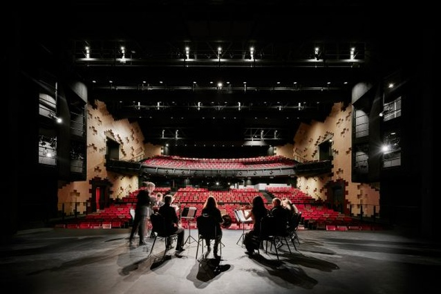 Ulumbarra Theatre by Y2 Architecture.