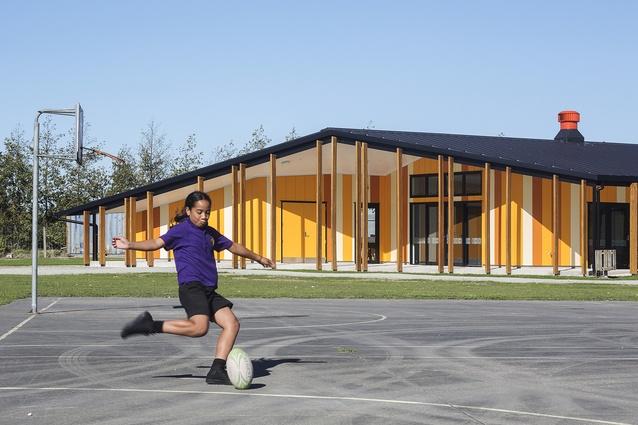 Education category finalist: Te Kura Kaupapa Māori o Ngāti Kahungunu o Te Wairoa, Wairoa by RTA Studio.
