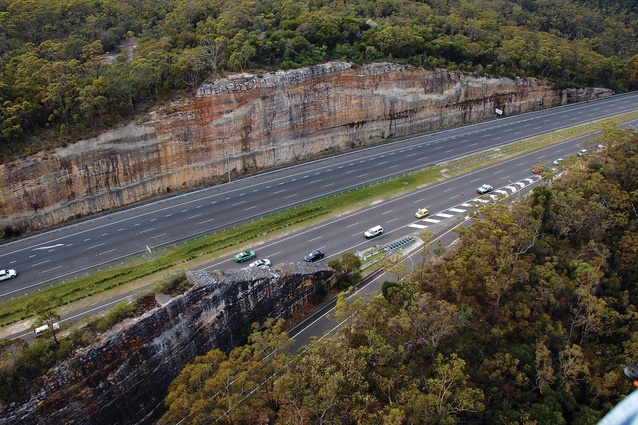 Sydney to Newcastle Expressway by Peter Spooner, New South Wales Department of Main Roads, 1962–1967.