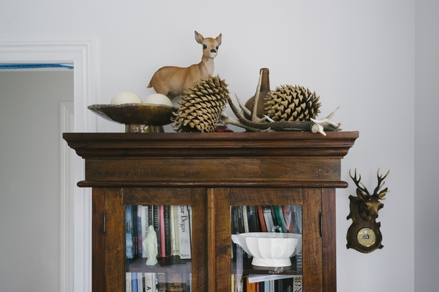 Taxidermy and other nature-influenced decor.