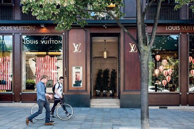 Louis Vuitton's Cabinet d'Ecruiture store.