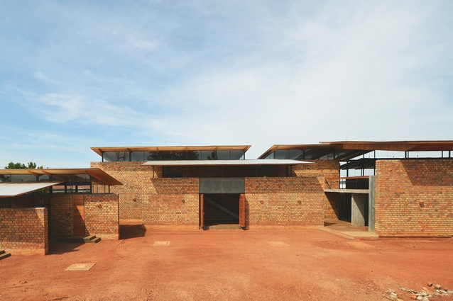 A dormitory for students from around Africa in Kampala, Uganda, by Terrain Architects.