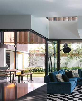 Renovation in Geelong West, Victoria by Melbourne practice Steve Domoney Architecture.