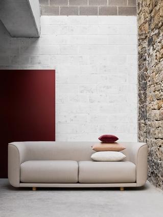 Adam Goodrum's Fat Tulip sofa.