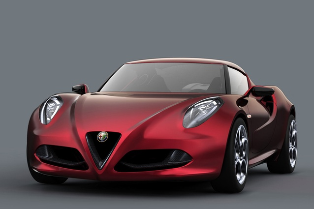 Made in Italy; 1.75-litre 4-cylinder turbo-petrol; 150-170kW (estimated); 6-speed double-clutch; rear-wheel drive; 850kg.