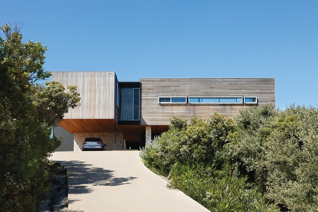 St andrews beach house architectureau for Beach house construction materials