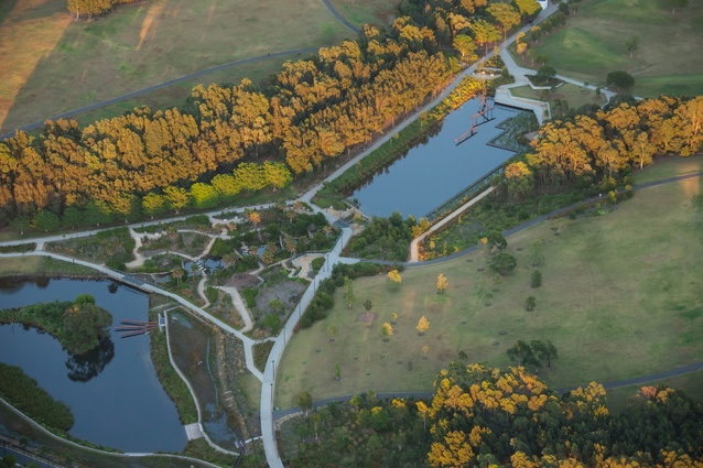 Sydney Park Water Re-Use Project Stage 2 by Turf Design Studio and Environmental Partnership (TDEP).