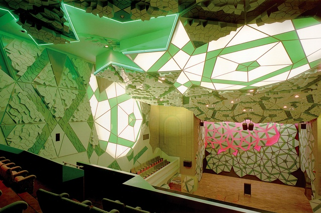 Interior of RMIT Storey Hall, Melbourne (1995).
