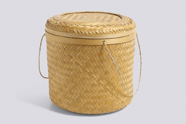 Hay Bamboo Basket $207 | from <a 